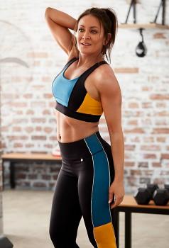 Michelle-Bridges-Colour-Block-Crop-Top-and-Leggings on sale
