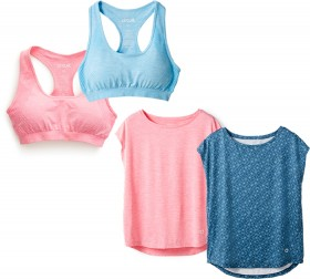 Circuit-Womens-Seamless-Crop-Tops-Plain-and-Print-Core-Tees on sale