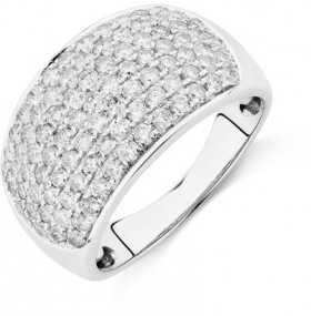 Ring-with-1.5-Carat-TW-of-Diamonds-in-10ct-White-Gold on sale