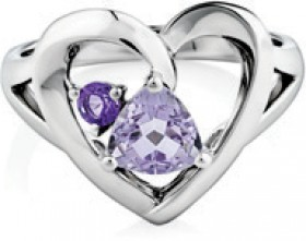 NEW-Ring-with-Natural-Amethyst-in-Sterling-Silver on sale