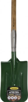 Cyclone-Long-Handled-Post-Hole-Square-Mouth-Shovel on sale
