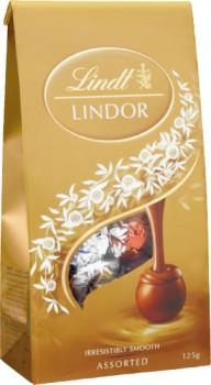 Lindt-Lindor-Chocolates-Bag-123g-125g on sale