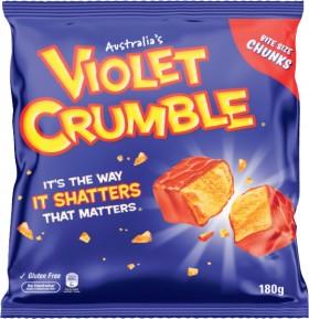 Violet-Crumble-Choc-Honeycomb-Bag-180g on sale