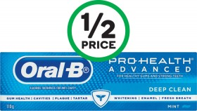 Oral-B-Pro-Health-Advanced-Deep-Clean-Toothpaste-110g on sale