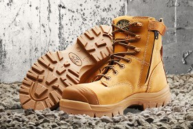 Oliver-AT-45-632Z-Wheat-Lace-Up-Safety-Boots-with-TECtuff-Toe-Bumper on sale