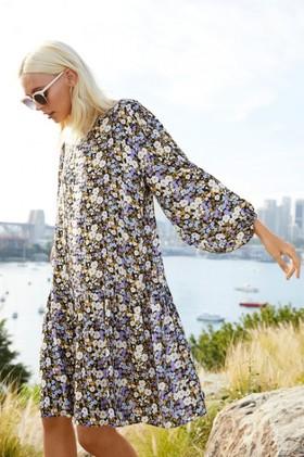 Emerge-Long-Sleeve-Drop-Waist-Dress on sale