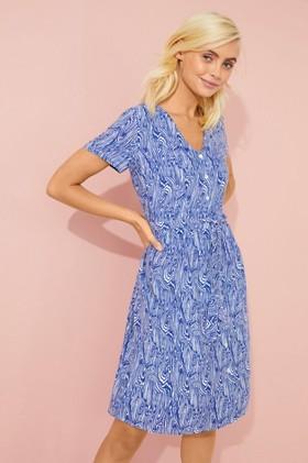 Emerge-Belted-Shirt-Dress on sale