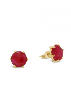Fairfax-Roberts-Real-Gemstone-Stud-Earring on sale
