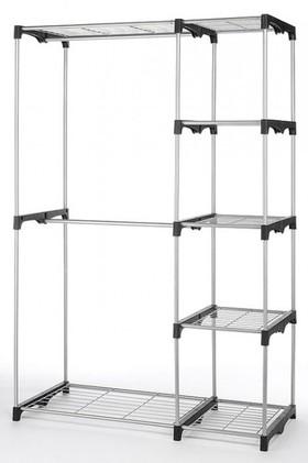 Whitmor-Double-Rod-Freestanding-Closet on sale