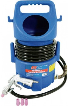 Garage-Tough-Portable-Sandblaster-Kit on sale
