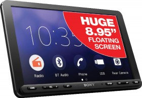 Sony-8.95-Floating-220W-AV-CarPlay-Android-Auto-Receiver on sale
