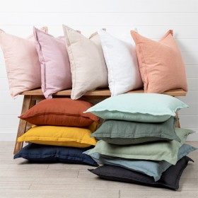 Sahara-Linen-Feather-Cushion-by-M.U.S.E on sale