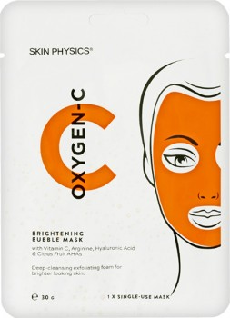 Skin-Physics-Oxygen-C-Brightening-Bubble-Mask on sale