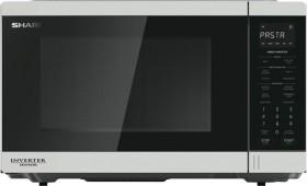 Sharp-1200W-Inverter-Microwave-White on sale