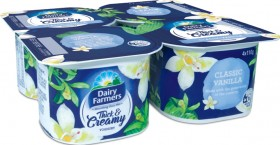 Dairy-Farmers-Thick-Creamy-Yoghurt-4-Pack-Selected-Varieties on sale