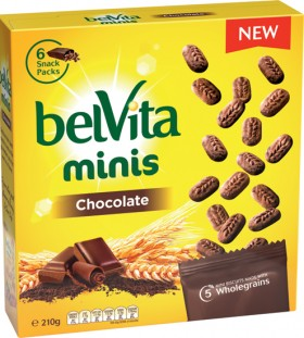 BelVita-Chocolate-or-Honey-Choc-Chip-Minis-210g on sale