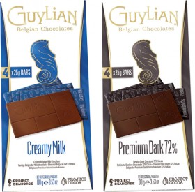 Guylian-Chocolate-Bar-100g-Selected-Varieties on sale