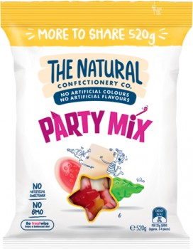 The-Natural-Confectionery-Co.-Party-Mix-or-Snakes-Jumbo-Pack-520g on sale