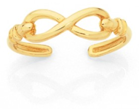 9ct-Gold-Toe-Ring on sale