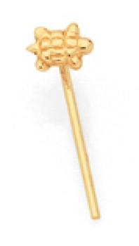 9ct-Gold-Turtle-Nose-Stud on sale