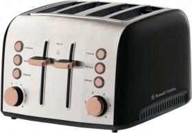 Russel-Hobbs-Brooklyn-4-Slice-Toaster-Copper on sale