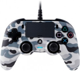 PS4-Wired-Controller-Camo-Grey on sale
