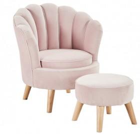 Venus-Armchair-with-Footstool on sale