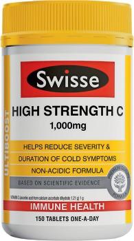 Swisse-Ultiboost-High-Strength-C-1000mg-150-Tablets on sale