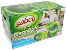 Sabco-Clean-Spin-Mop-Bucket-System on sale