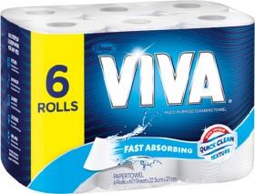 Viva-6-Pack-Paper-Towels on sale