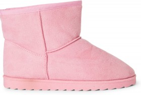 Brilliant-Basics-Slipper-Boots-Pink on sale