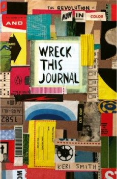 Wreck-This-Journal-Now-In-Colour on sale