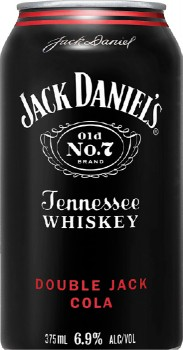 Jack-Daniels-Double-Jack-Cola-6.9-Premix-Cans-375mL-10-Pack on sale