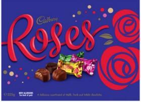 Cadbury-Roses-225g on sale