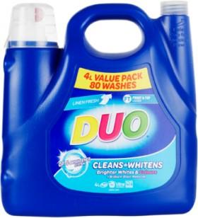 Duo-Laundry-Detergent-4-Litre on sale