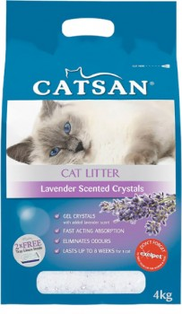 Catsan-Lavendar-Scented-Crystals-4kg on sale