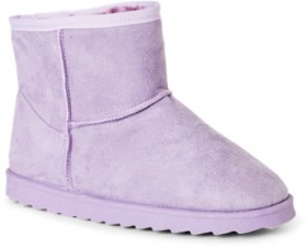 Brilliant-Basics-Kids-Slipper-Boots-Lilac on sale
