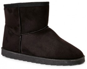 Brilliant-Basics-Kids-Slipper-Boots-Black on sale