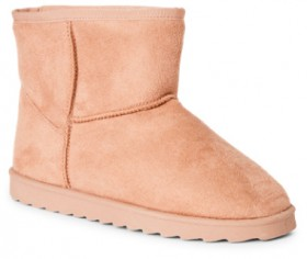 Brilliant-Basics-Kids-Slipper-Boots-Taupe on sale