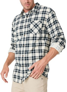 Brilliant-Basics-Long-Sleeve-Flannel-Shirt on sale