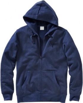 Brilliant-Basics-Mens-Fleece-Zip-Through-Hoodie-Midnight-Marle on sale
