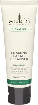 Sukin-Signature-Foaming-Facial-Cleanser-50ml on sale