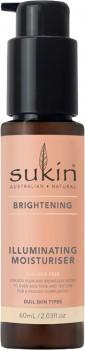 NEW-Sukin-Brightening-Illuminating-Moisturiser-60ml on sale