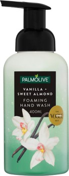 Palmolive-Foaming-Hand-Wash-Vanilla-Sweet-Almond-400ml on sale