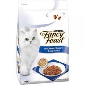 Fancy-Feast-Tuna-Prawn-Mackerel-Crab-Adult-Dry-Cat-Food-1.4kg on sale