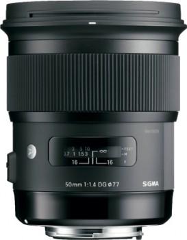 Sigma-50mm-f1.4-DG-HSM-Art-Series-Lens on sale