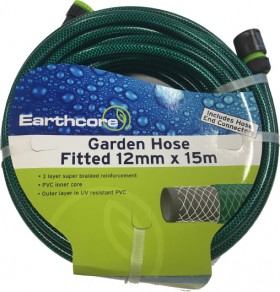 Earthcore-15m-Fitted-Garden-Hose on sale