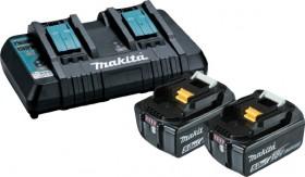 Makita-5.0Ah-Battery-Charger-Combo on sale