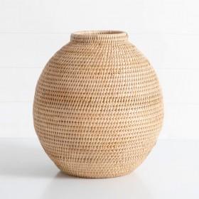 Noah-Rattan-Vase-by-M.U.S.E on sale