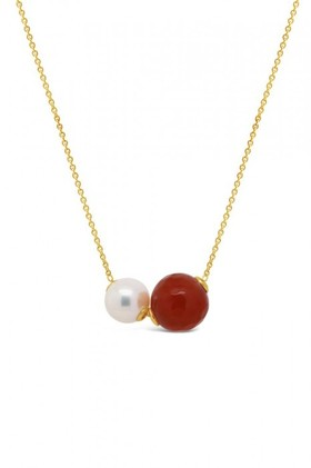 Fairfax-Roberts-Pearl-Agate-Slider-Necklace on sale